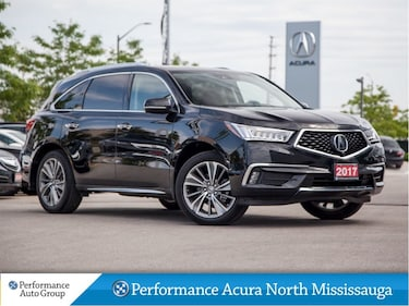 2017 Acura MDX Elite Package. Navi. Htd Seats. Leather. DVD SUV
