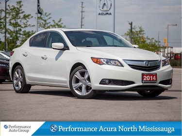 2014 Acura ILX Premium. Low KM! Htd Seats. Leather. Sunroof Sedan