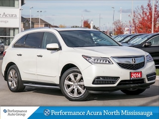 2014 Acura MDX Elite Package. Leather. Navigation. Sunroof SUV