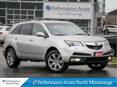 2012 Acura MDX Elite Package SH-AWD. Navi. Leather. Htd Seats SUV