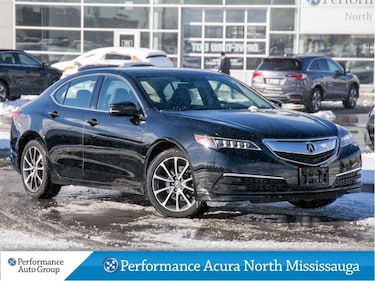 2015 Acura TLX V6 Tech. Leather. Heated Seats Sedan