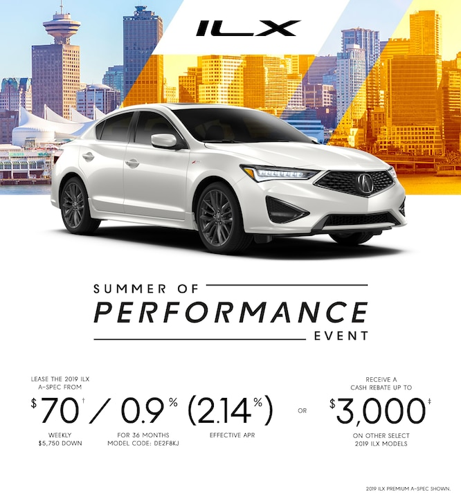 New Acura Specials And Promotions