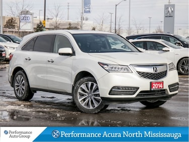 2014 Acura MDX Tech Package. Navi. Leather. Htd Seats SUV