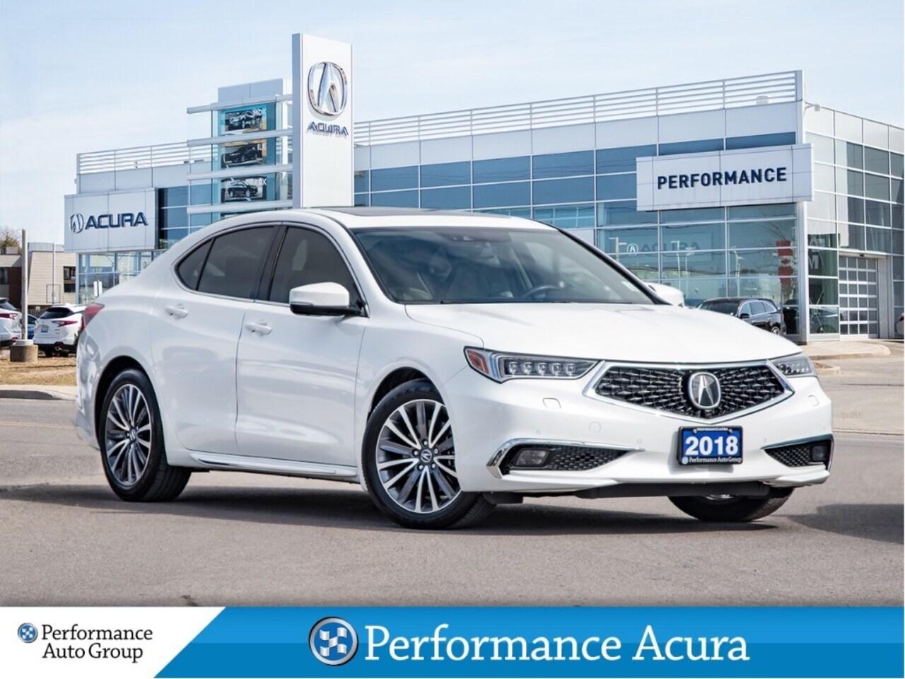 2018 Acura TLX SH-AWD Sedan