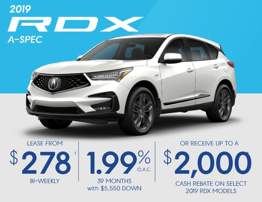 2019 Acura RDX Special Offer