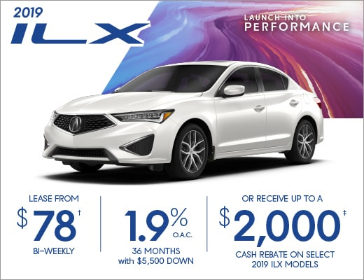 2019 ILX Special Offer