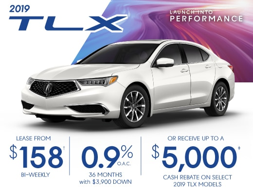 2019 TLX Special Offer