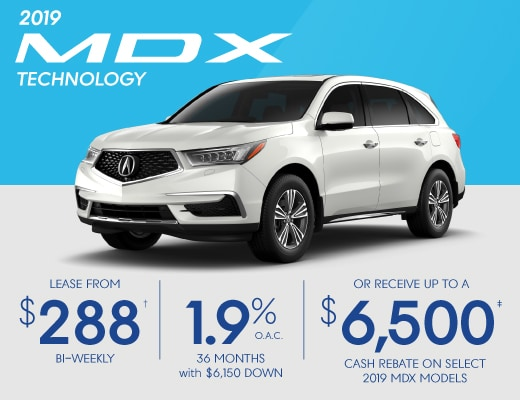 2019 Acura MDX Special Offer