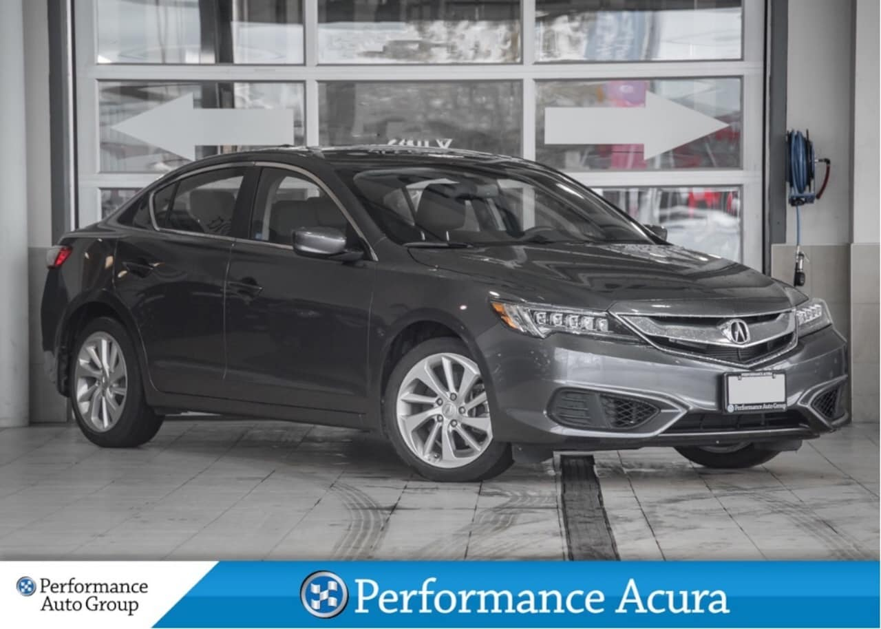 2018 Acura ILX Tech Pkg. Navi. Leather. Htd Seats. Demo Unit Sedan
