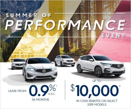 New Acura Lease & Finance Offers