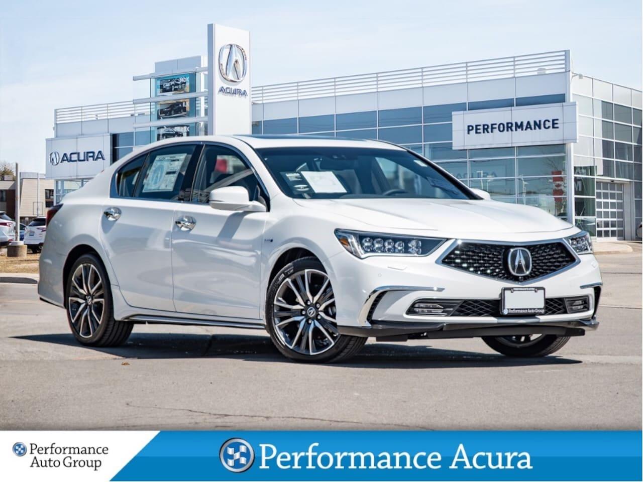 2018 Acura RLX Sport Hybrid Elite Sedan
