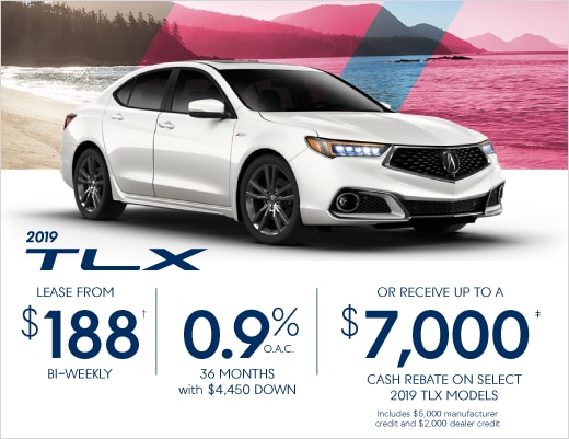 2019 Acura TLX Special Offer