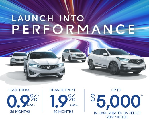 Launch Into Performance Special Offers