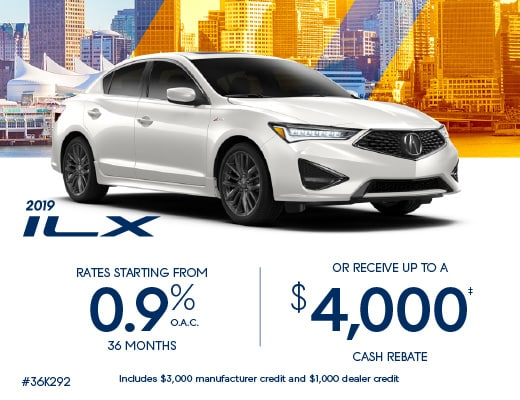2019 Acura ILX Special Offer
