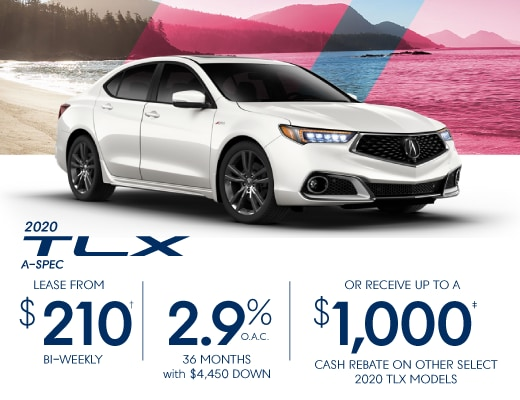2020 Acura TLX Special Offer