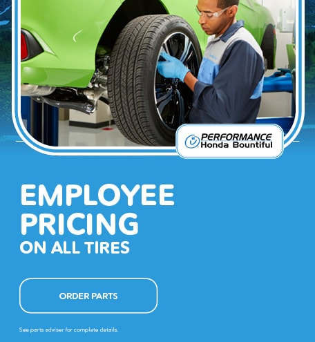 Employee Pricing On All Tires