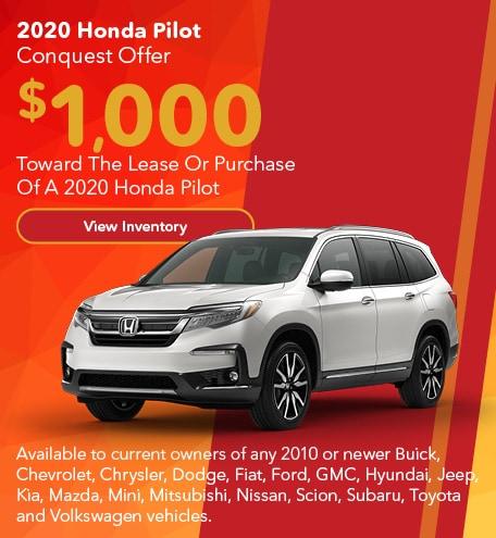 2020 Honda Pilot Conquest Offer