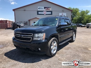 2007 Chevrolet Avalanche LTZ LOADED BLACK LEATHER MOON ROOF