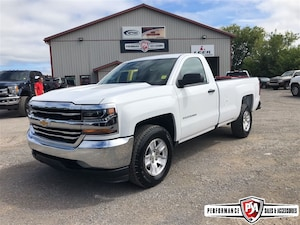 2017 Chevrolet Silverado 1500 LS REG LONG BOX 2WD