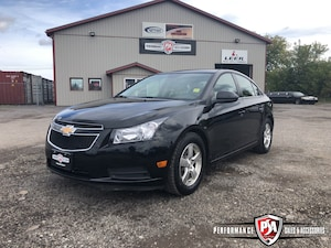 2014 Chevrolet Cruze 100% GUARANTEED FINANCING!
