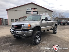2006 GMC SIERRA 2500HD SLT 6 inch RCX LIFT WHEEL/TIRE PKG!! Crew Cab