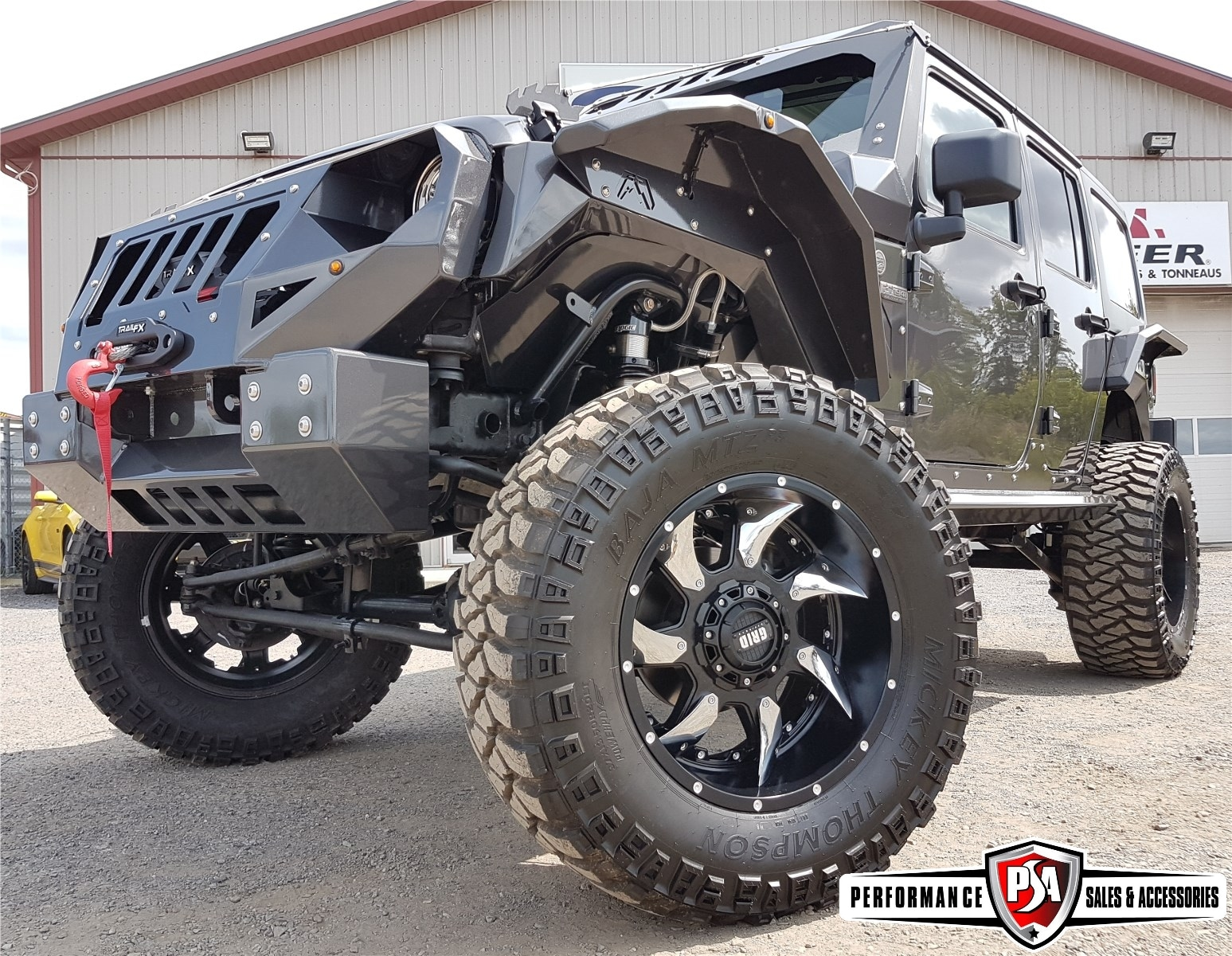 2017 Jeep WRANGLER UNLIMITED EXTREME ($38, 000 IN ACCESSORIES!!) SUV