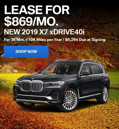New 2019 X7 xDrive40i
