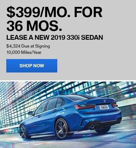 Lease a New 2019 330i Sedan