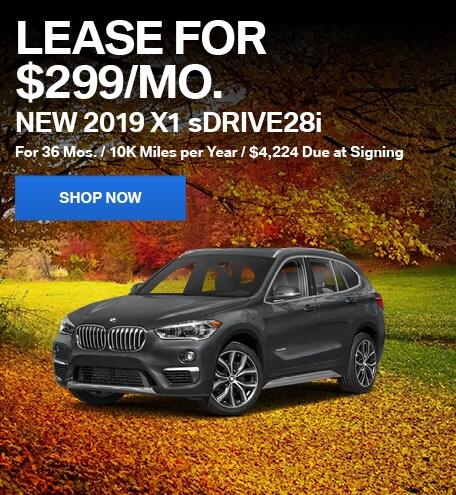 New 2019 X1 sDrive28i