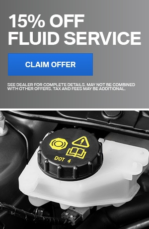 15% Off Fluid Service