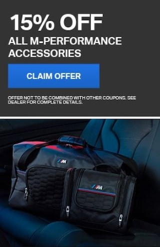 15% Off All M-Performance Accessories