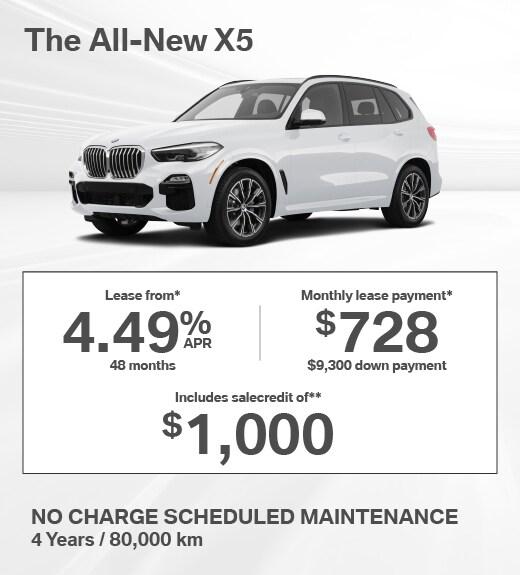 2019 BMW X5 Special Offer