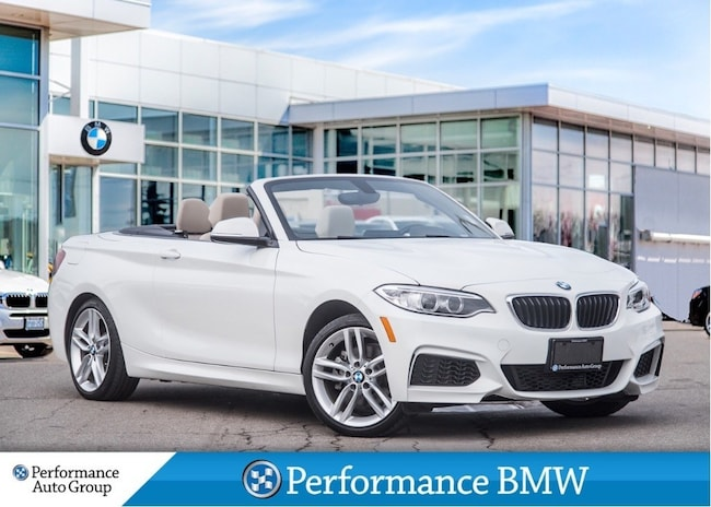 2016 BMW 228i xDrive. CONVERTIBLE. HTD SEATS. BLUETOOTH Cabriolet