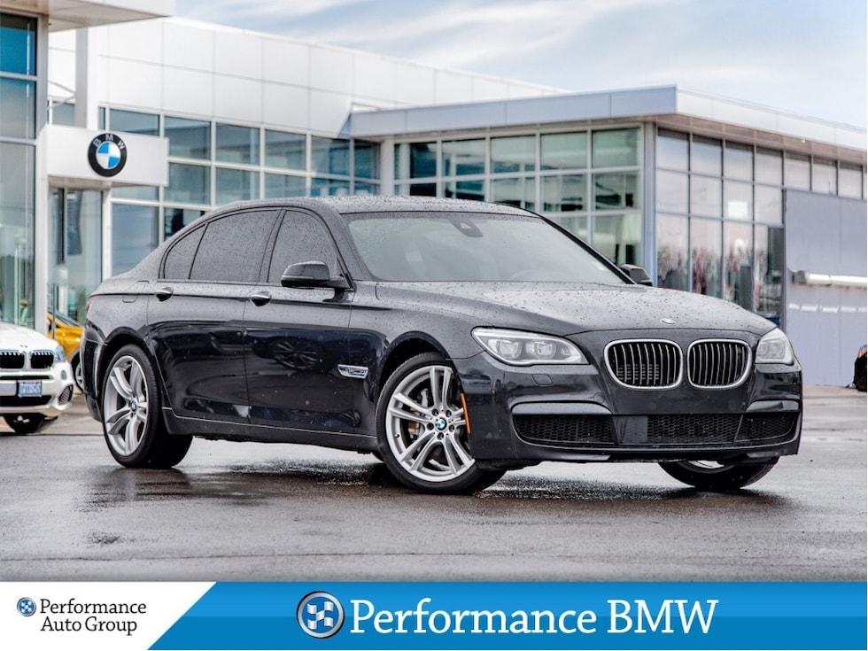 2015 BMW 750i Li xDrive. M SPORT. NAVI. HTD/COOL SEATS. CAMERA Sedan