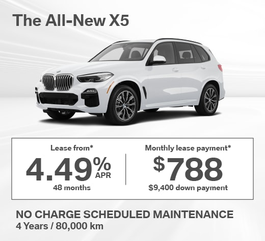 2019 BMW X5 Special Offer