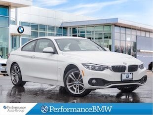 2018 BMW 430i xDrive. NAVI. CAMERA. ROOF. HTD SEATS. DEMO UNIT Coupe