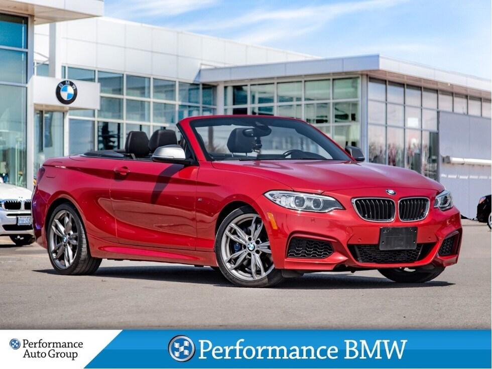 2016 BMW M235i xDrive. CAMERA. NAVI. HTD SEATS. HARMAN/KARDON Cabriolet