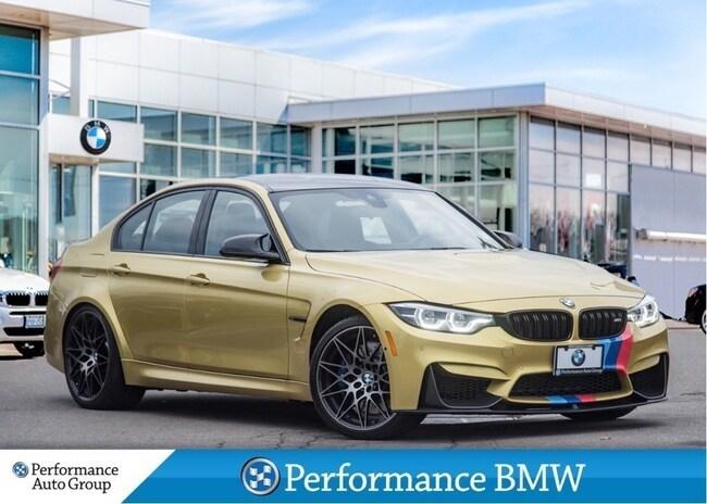 2018 BMW M3 NAVI. CAMERA. HTD SEATS. DEMO UNIT Sedan