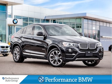 2018 BMW X4 xDrive28i. NAVI. HTD SEATS. SURROUND VIEW. ROOF SUV