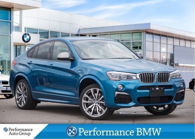 2018 BMW X4 M40i. HEAD-UP DISPLAY. NAVI. CAMERA. DEMO UNIT SUV