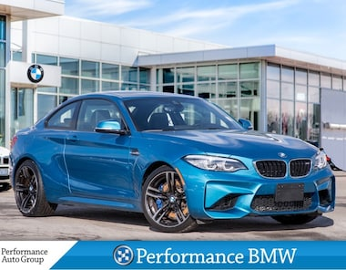 2018 BMW M2 NAVI. ROOF. HTD SEATS. CAMERA. DEMO UNIT Coupe