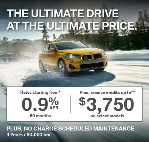 Receive credits up to 3,750 on select models