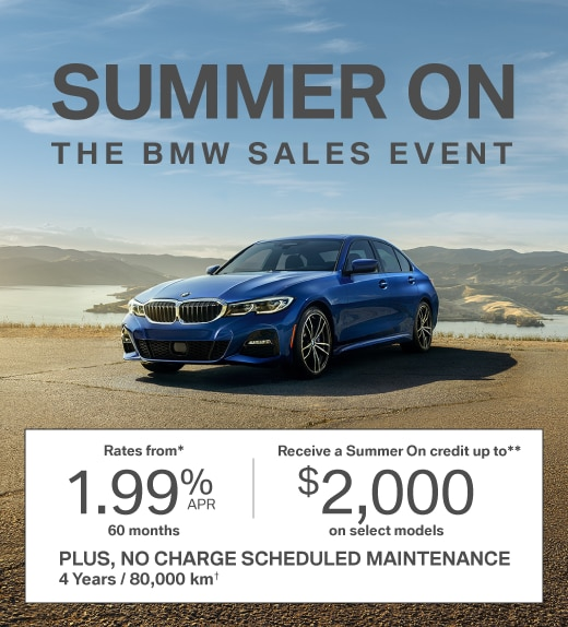 Summer On. The BMW Sales Event