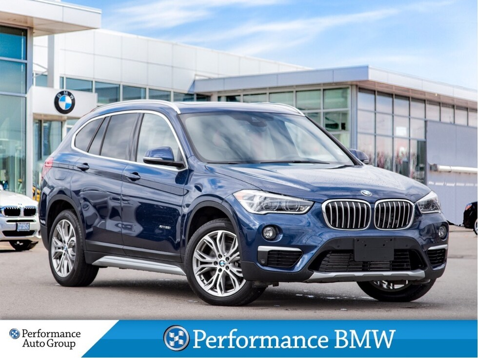2018 BMW X1 xDrive28i. NAVI. PANO ROOF. HTD SEATS. BLUETOOTH SUV