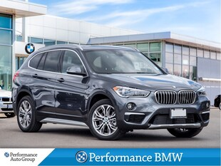 2019 BMW X1 xDrive28i. NAVI. HTD STEERING. CAMERA. DEMO UNIT SUV