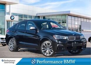 2018 BMW X4 M40i. CAMERA. NAVI. HTD SEATS. DEMO UNIT SUV