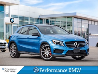 2017 Mercedes-Benz AMG GLA 45 4MATIC. HTD SEATS. PANO ROOF. ALLOYS SUV