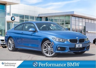 2018 BMW 430i xDrive. M SPORT PKG. NAVI. HTD SEATS. DEMO UNIT Coupe