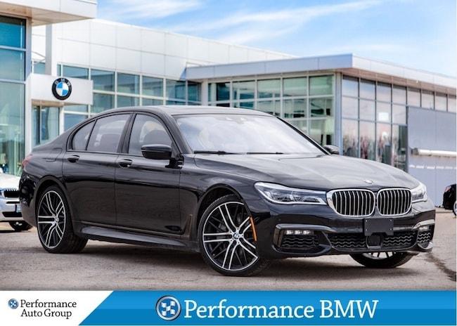 2019 BMW 750i AWD. HTD SEATS. SURROUND VIEW. NAVI. DEMO UNIT Sedan