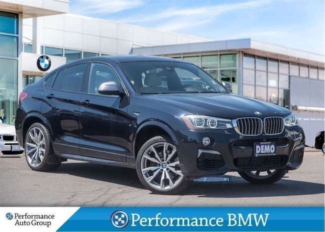 2018 BMW X4 M40i. EXECUTIVE PKG. NAVI. HTD SEATS. DEMO UNIT SUV